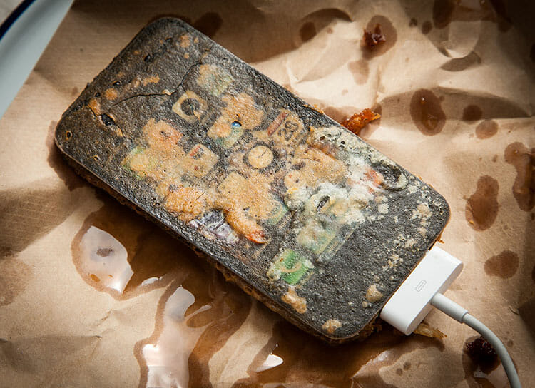 Photo from the Deep Fried Gadget photo series by Henry Hargreaves