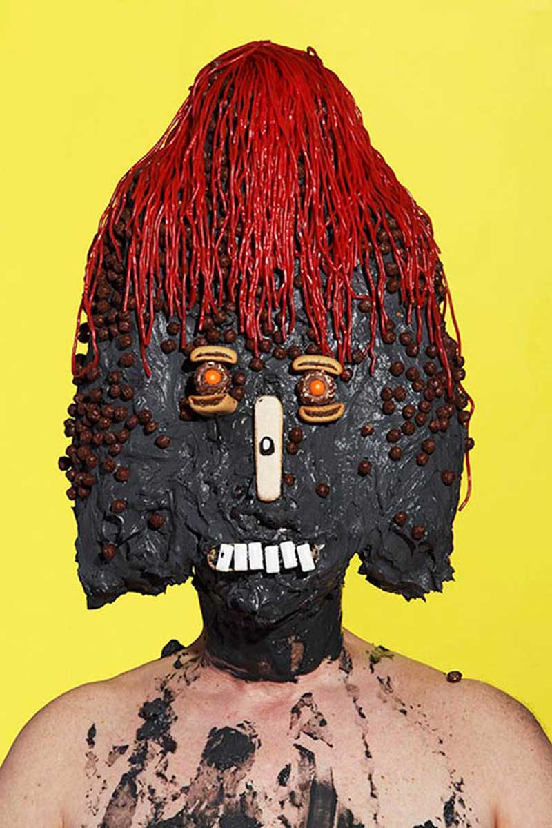 Junk food portraits by James Ostrer