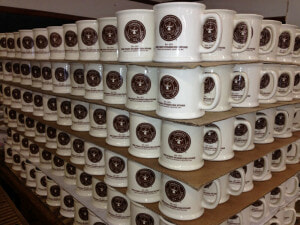Small business, big impact: Mugs ready for delivery to Starbucks