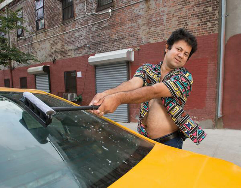 Getting naked for a good cause: from the 2017 NYC Taxi Drivers calendars