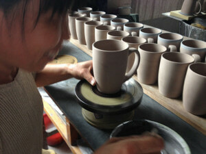 Small business, big impact: many of hausenware's products are entirely made by hand
