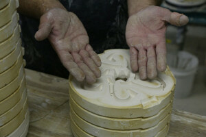 Small business, big impact: molds used to create ceramic handles for mugs