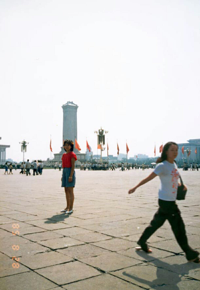 Family album - style images from Chino Otsuka's Imagine Finding Me photo series