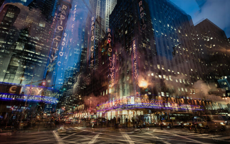 From Riccardo Magherini's time-layering New York series