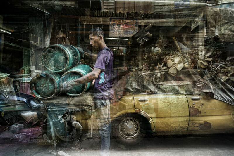 From Riccardo Magherini's time-layering BKK series