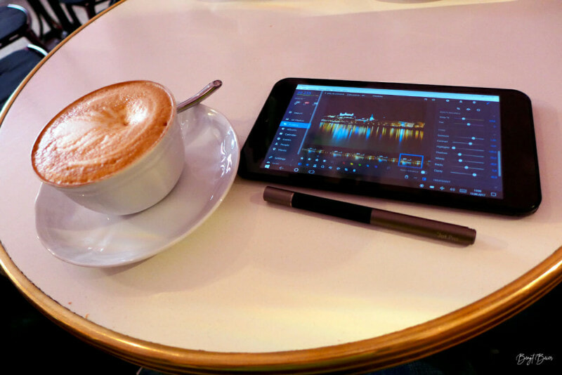 Photo editing app that lets you work anywhere