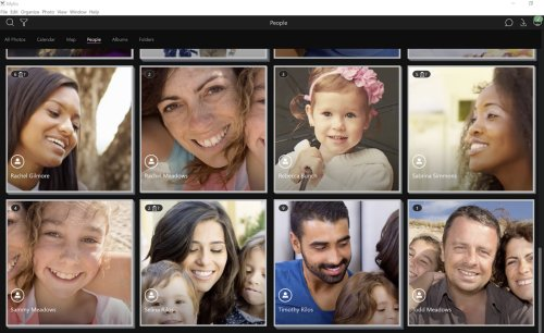 Facial Recognition in Mylio