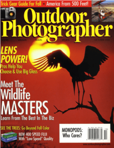 Outdoor Photographer Cover